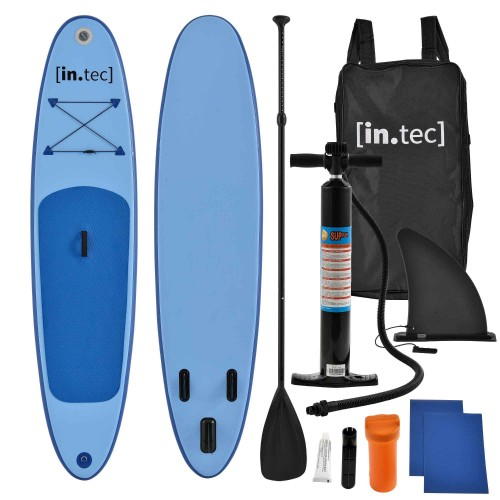Marca do fabricante - Prancha Stand Up Paddle 10 - Kit Completo SUP - 305 x 71 x 10cm - Azul
