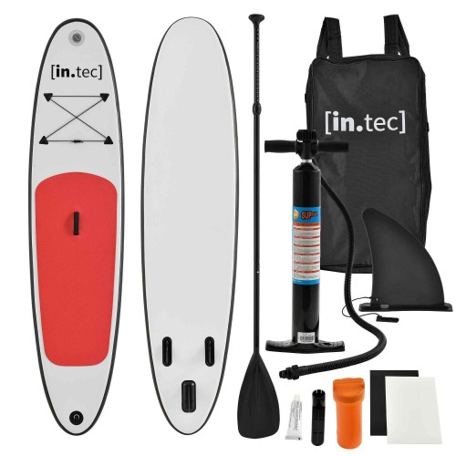 Marca do fabricante - Prancha Stand Up Paddle 10 - Kit Completo SUP - 305 x 71 x 10cm - Vermelha